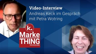 Video-Interview Andreas Keck im Gespräch mit Petra Worting, Magazin Key-Work