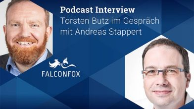 Podcast Interview Torsten Butz, FALCONFOX im Gespräch mit Andreas Stappert, Key-Work