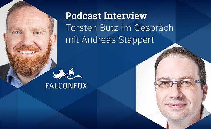 Podcast Interview Torsten Butz, FALCONFOX im Gespräch mit Andreas Stappert, Key-Work
