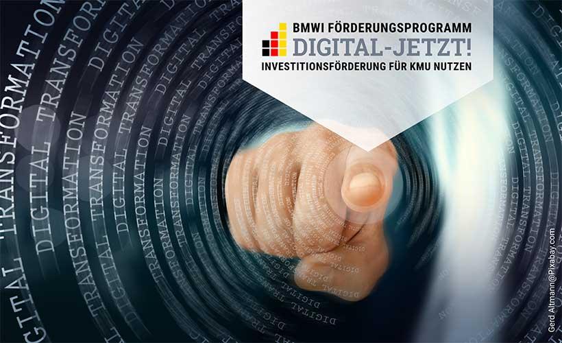 BMWI Förderungsprogramm Digital-Jetzt!nutzen