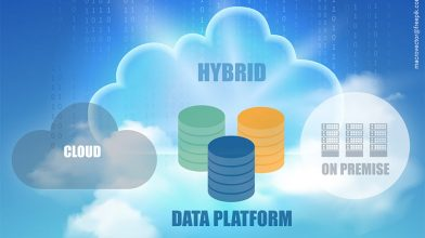 Hybrid Infrastructure with Data Platform Key-Work