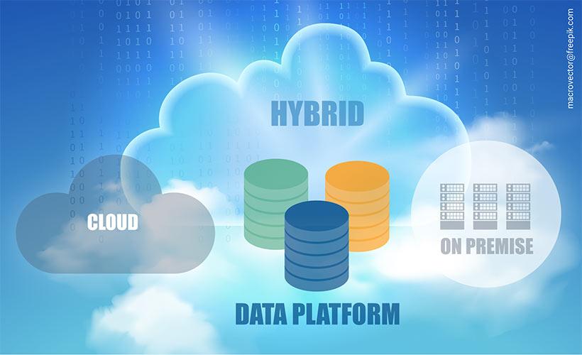 Hybrid Infrastructure with Data Platform Key-Work