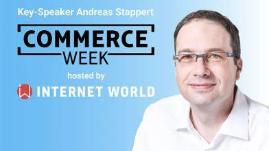 Commerce Week 2021 Vortrag Andreas Stappert, Key-Work, Personalisierung in Echtzeit